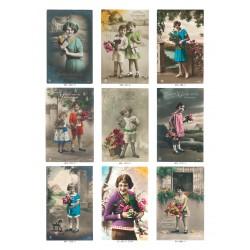 Kitschpostkarten. Geburtstag ll